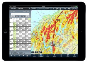 AvPlan in action, versus MetService inaction. (Picture courtesy of AvSoft)