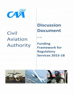 The first hint of what CAA has is in store has just been released. To get the detail, click on the link at the end of this story