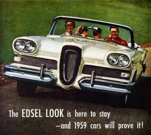Ford took its customers for granted with the unspeakably ugly Edsel - and then suffered the biggest marketing flop in history